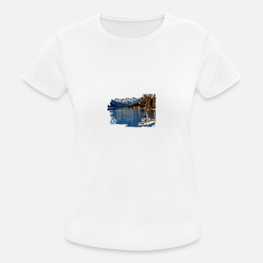 Laken lake - Frauen Sport T-Shirt