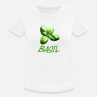 Basil Basil with lettering - Women's Sport T-Shirt