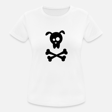 Dog Sign dog s face - Frauen Sport T-Shirt