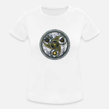 Sacred Consciousness Travel Machine, Sacred Geometry - Women's Sport T-Shirt