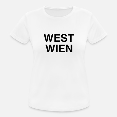 West WEST WIEN - Frauen Sport T-Shirt