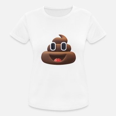 Poop poop - Women's Breathable T-Shirt