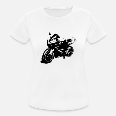 Supersport Motorcykel Supersport - Dame T-shirt svedtransporterende