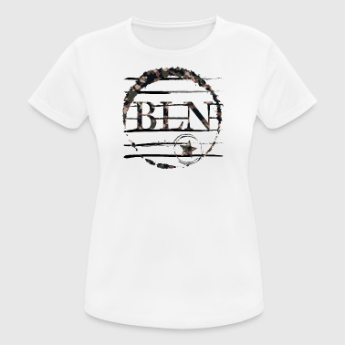 Berlin BLN camouflage - Women's Breathable T-Shirt