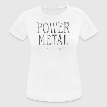 Power Metal T-shirt Power Metal - T-shirt respirant Femme