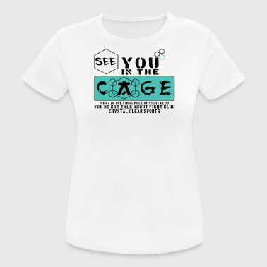 Cage Fighter - Women's Breathable T-Shirt