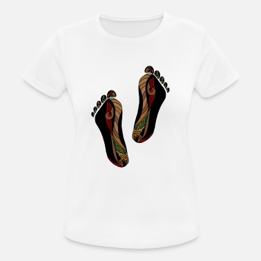Feet feet - Women's Breathable T-Shirt