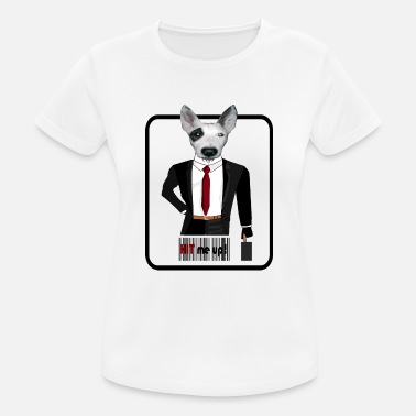 Hitman Hitman Dog - Frauen Sport T-Shirt