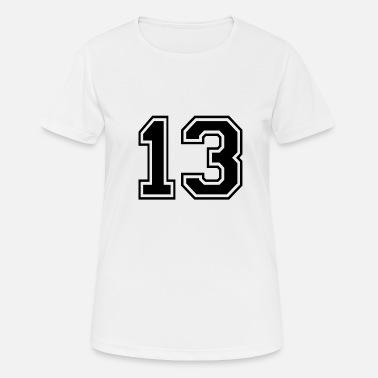 a86292864c85a Numero 13 Diseño de la camisa Jersey - 13 - Rugby estilo de deporte -  Camiseta