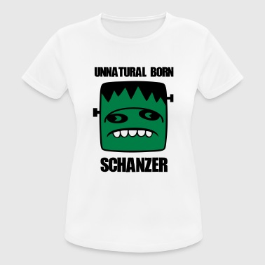 Schanze Fonster unnatural born Schanzer - Frauen T-Shirt atmungsaktiv