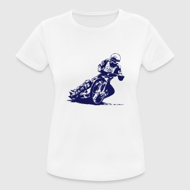 Grass Track Speedway Driver - Women's Breathable T-Shirt