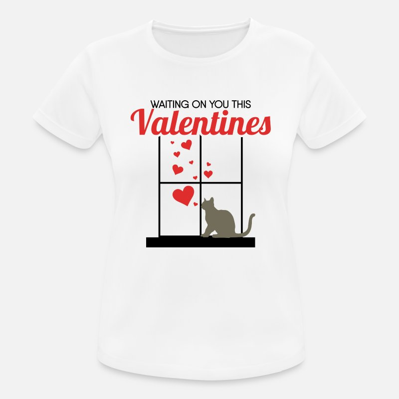 Chat Commander T Saint Valentin LigneSpreadshirt À Shirts En N0OynPvwm8