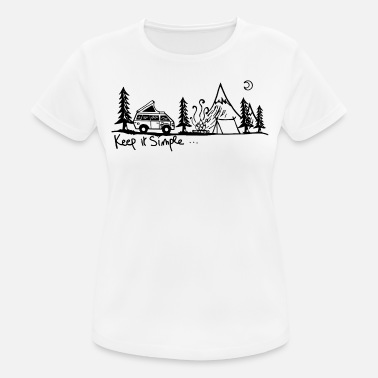 Simple Woman hold det simpelt - Sports T-shirt dame