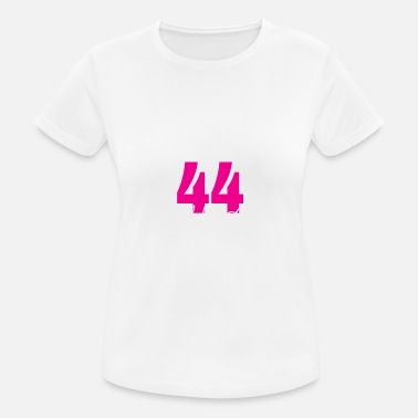 44 Year Old Birthday Girl 44 Years Old - Women's Breathable T-Shirt