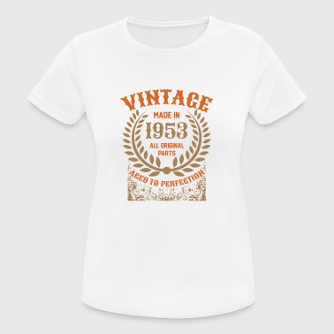 Made 1953 Vintage Made In 1953 All Original Parts - Women's Breathable T-Shirt
