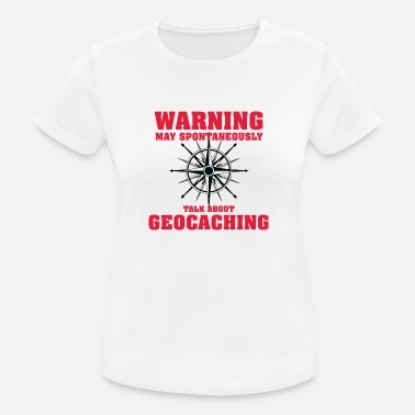 Geocaching Geocaching - Women's Breathable T-Shirt