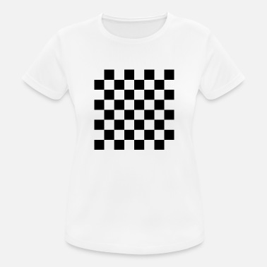 Checkerboard checkerboard - Women's Breathable T-Shirt