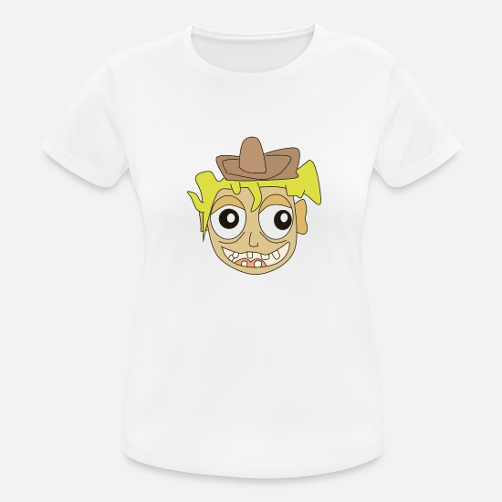 Mouth T-Shirts - cowboy - Women's Sport T-Shirt white
