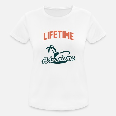 Modernist Lifetime adventure - Frauen T-Shirt atmungsaktiv