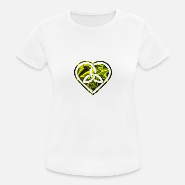 Celtic Celtic Knot Heart - Celtic Knot Heart4 - Women's Sport T-Shirt