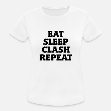 Clash Spis gave til Sleep Clash Reapeat Gamer - Sports T-shirt dame