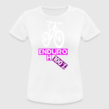 enduro downhill bike - Frauen T-Shirt atmungsaktiv