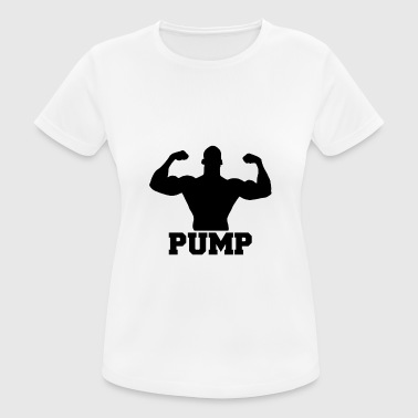 Pump up the weights - Women's Breathable T-Shirt