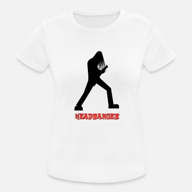 Headbanging Headbanger - Women's Sport T-Shirt