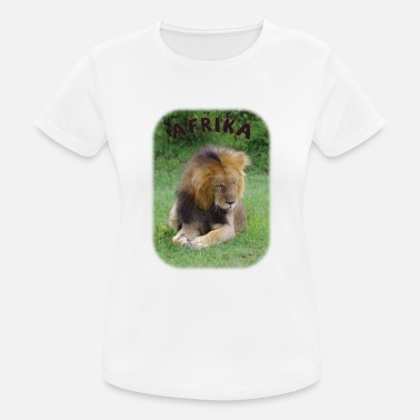 Five Afrika Löwe, einer der big five - Frauen Sport T-Shirt