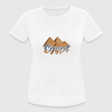 Pyramid of Egypt - Women's Breathable T-Shirt