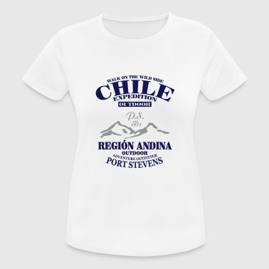 Chile Expedition -  Andes -  Anden - Frauen T-Shirt atmungsaktiv