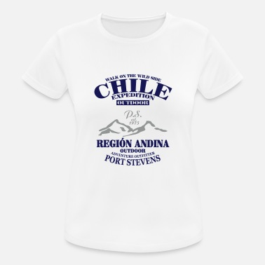 Ändern Chile Expedition -  Andes -  Anden - Frauen T-Shirt atmungsaktiv