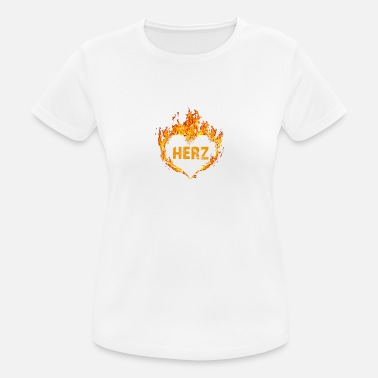 Modern Pentathlon Gift T-Shirt Heart Burns Modern Pentathlon - Women's Breathable T-Shirt