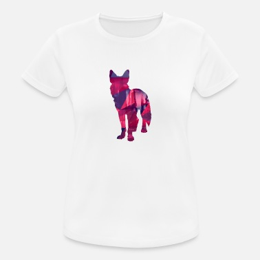 Low Dog low poly - Dogs Low Poly Design - Women's Breathable T-Shirt