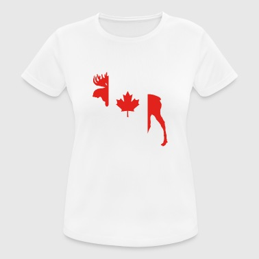 Moose Canada - Women's Breathable T-Shirt