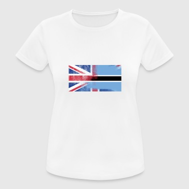 Botswana British Botswana Half Botswana Half UK Flag - Women's Breathable T-Shirt