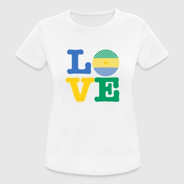 Gabon GABON HEART - Women's Breathable T-Shirt