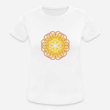 Life Flower Flower of Life - Flower of Life - Women's Breathable T-Shirt