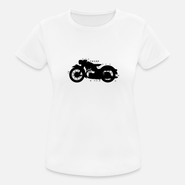 Dark Wave Dark Bike - Dark Mind - Dame T-shirt svedtransporterende