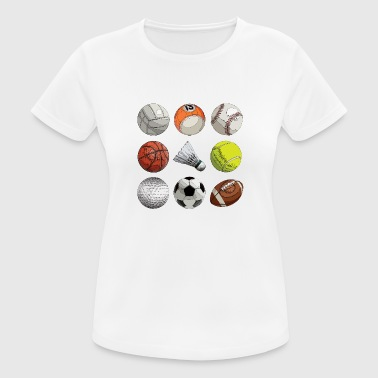Ball Sports ball Sports - Women's Breathable T-Shirt