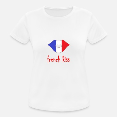 French Kiss french kiss - Women's Breathable T-Shirt