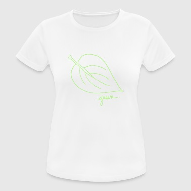 Green leaf green - Women's Breathable T-Shirt