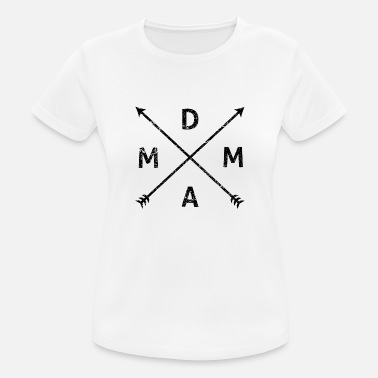 Drugs MDMA Hipster Arrows Drug Shirt Vintage Gift - Women's Breathable T-Shirt