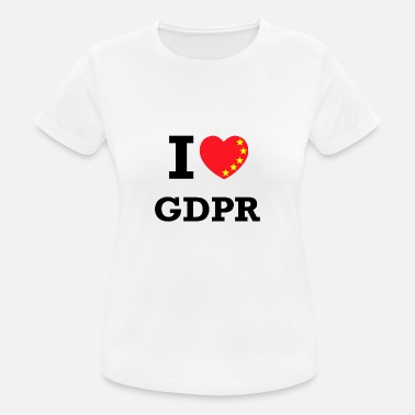 Gdpr I love the GDPR - Women's Breathable T-Shirt
