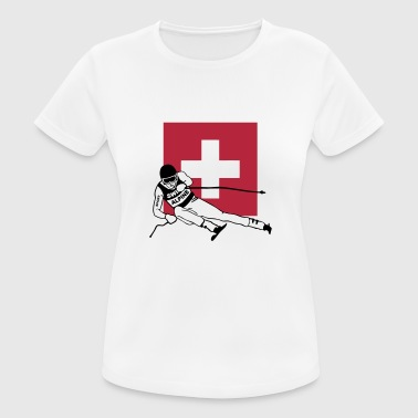 Alpine Skiing ski - alpine - apres - schweiz - Women's Breathable T-Shirt
