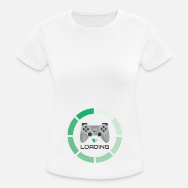 Loading Player Green Loading - Women's Breathable T-Shirt