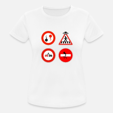 Road Sign Road signs - Women's Sport T-Shirt