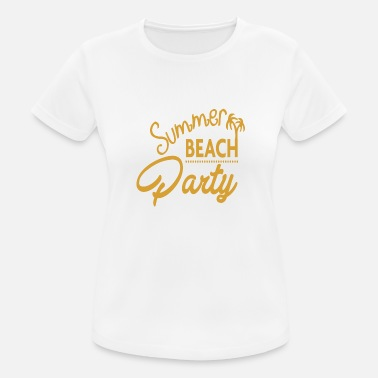 Beachparty Beach party - Women's Sport T-Shirt