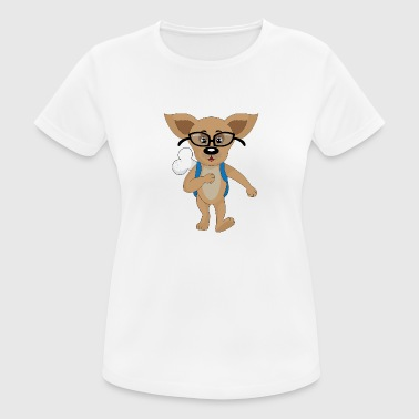 school dog - Women's Breathable T-Shirt
