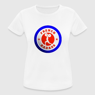 France - French weightlifter pride - Women's Breathable T-Shirt
